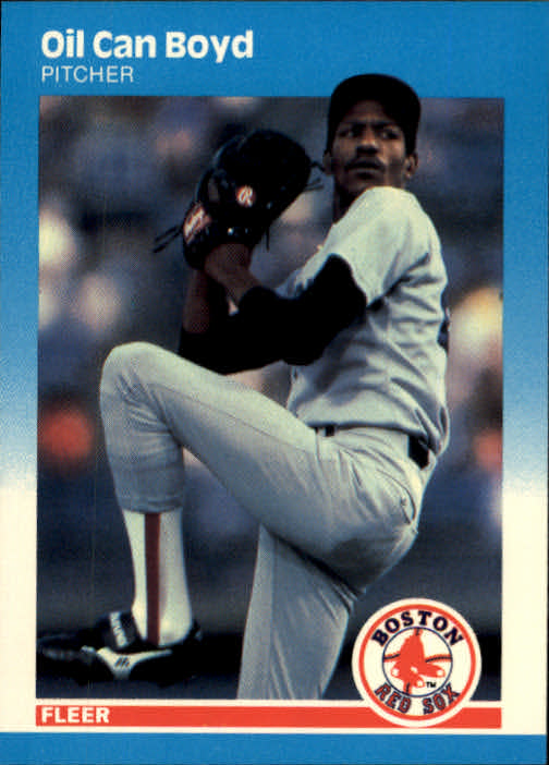1987 Fleer #30 Oil Can Boyd