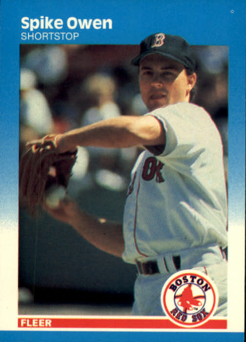 1987 Fleer #40 Spike Owen