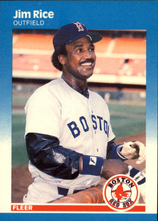 1987 Fleer #41 Jim Rice