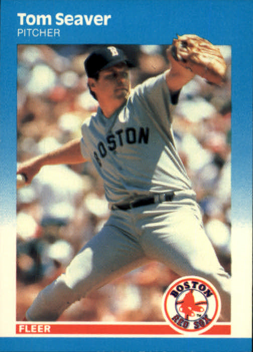 1987 Fleer #45 Tom Seaver