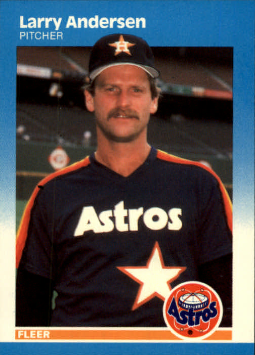 1987 Fleer #49 Larry Andersen