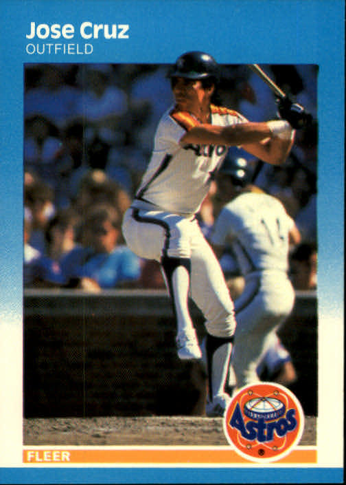 1987 Fleer #53 Jose Cruz