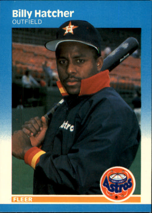 1987 Fleer #59 Billy Hatcher