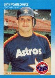 1987 Fleer #64 Jim Pankovits