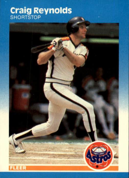 1987 Fleer #66 Craig Reynolds