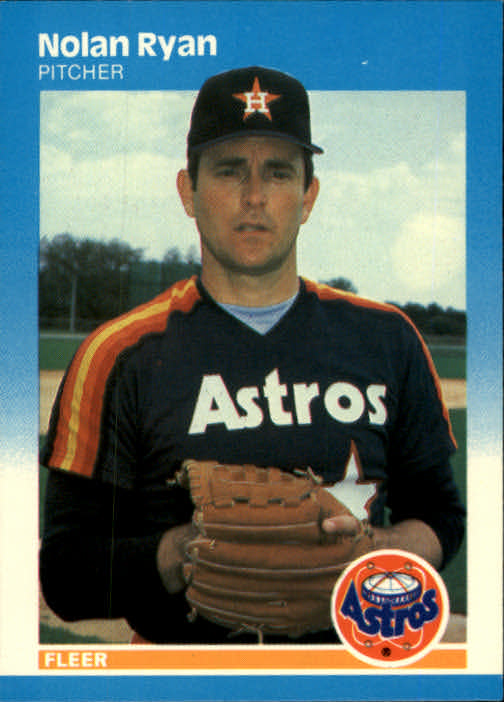 1987 Fleer #67 Nolan Ryan