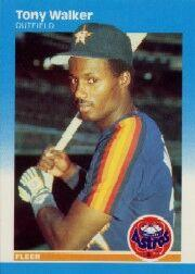 1987 Fleer #71 Tony Walker
