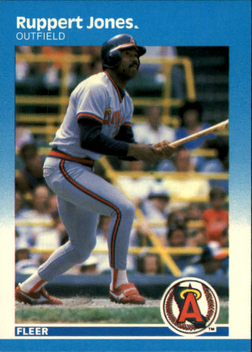 1987 Fleer #85 Ruppert Jones