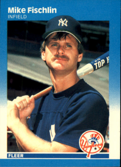 1987 Fleer #98 Mike Fischlin