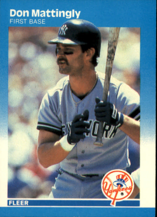 1987 Fleer #104 Don Mattingly