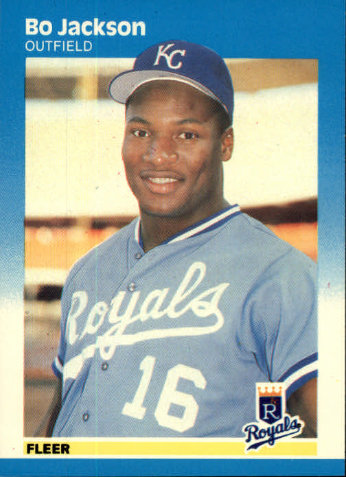 1987 Fleer #369 Bo Jackson RC