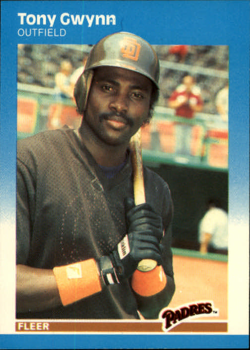 1987 Fleer #416 Tony Gwynn