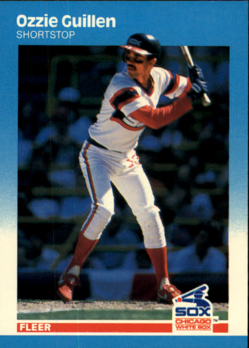 1987 Fleer #497 Ozzie Guillen