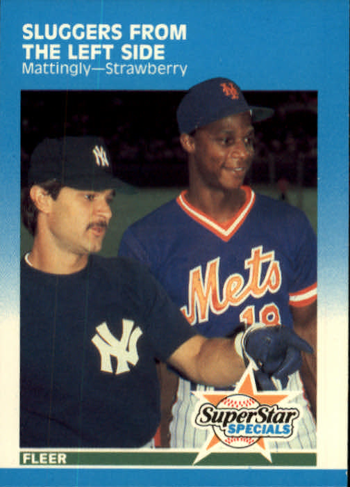 1987 Fleer #638 D.Mattingly/Strawberry