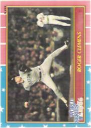 1987 Fleer Glossy #WS3 Roger Clemens