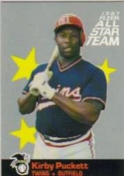 1987 Fleer All-Stars #5 Kirby Puckett