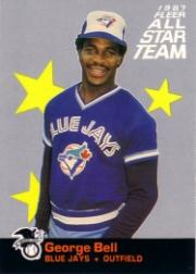 1987 Fleer All-Stars #9 George Bell