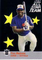 1987 Fleer All-Stars #12 Tim Raines