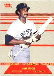1987 Fleer Headliners #6 Jim Rice