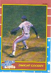 1987 Fleer World Series #7 Dwight Gooden front image