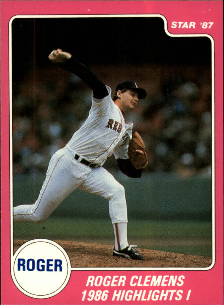 1987 Star Clemens II #3 Roger Clemens/1986 Highlights I