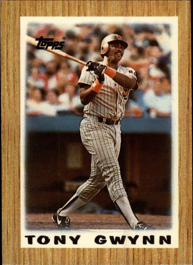 1987 Topps Mini Leaders #35 Tony Gwynn