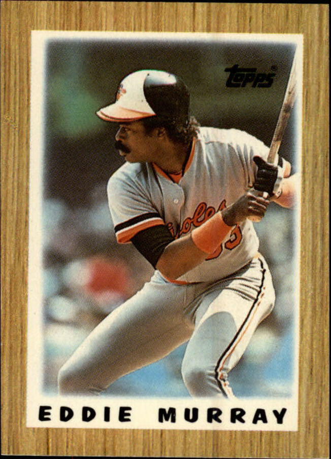 1987 Topps Mini Leaders #39 Eddie Murray