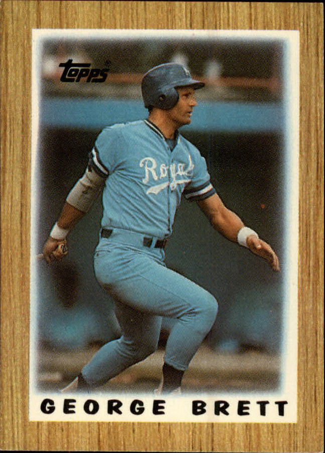 1987 Topps Mini Leaders #57 George Brett