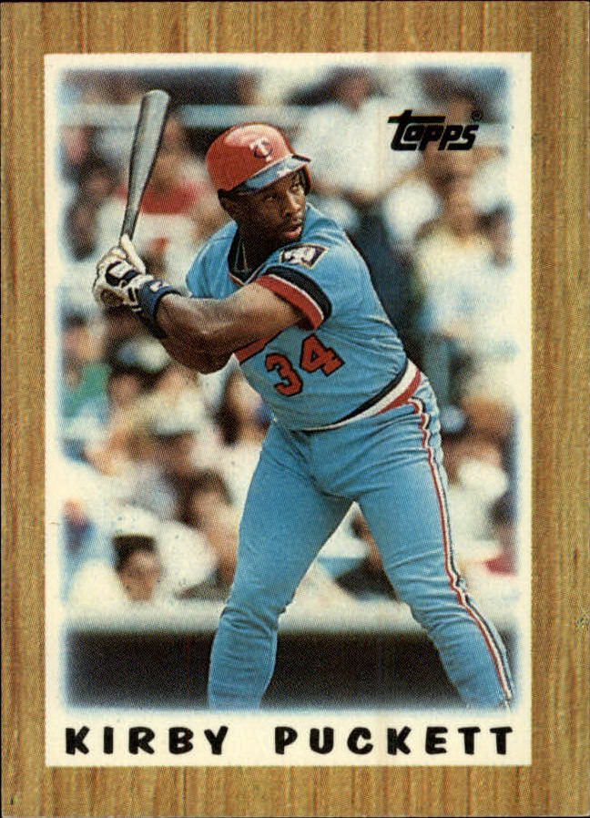 1987 Topps Mini Leaders #63 Kirby Puckett