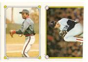 1987 Topps Stickers #2 Roger Clemens (175)/(Top half)