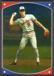 1987 Topps Stickers #151 Cal Ripken FOIL