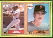 1987 Topps Wax Box Cards #A Don Baylor