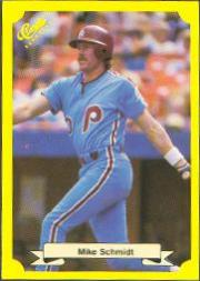 1987 Classic Update Yellow #101 Mike Schmidt