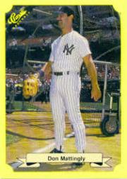 1987 Classic Update Yellow #104 Don Mattingly