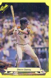 1987 Classic Update Yellow #107 Glenn Davis