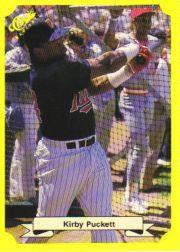 1987 Classic Update Yellow #112 Kirby Puckett