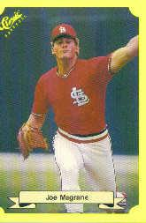 1987 Classic Update Yellow #117 Joe Magrane