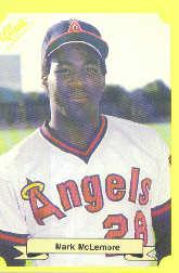 1987 Classic Update Yellow #119 Mark McLemore