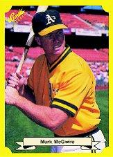 1987 Classic Update Yellow #121 Mark McGwire