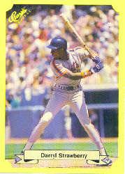 1987 Classic Update Yellow #122 Darryl Strawberry