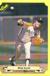 1987 Classic Update Yellow #123 Mike Scott