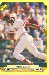 1987 Classic Update Yellow #133 Barry Larkin