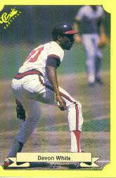 1987 Classic Update Yellow #140 Devon White