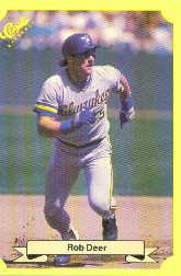 1987 Classic Update Yellow #141 Rob Deer