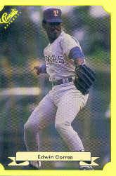 1987 Classic Update Yellow #143 Edwin Correa