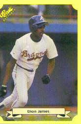 1987 Classic Update Yellow #144 Dion James