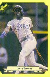 1987 Classic Update Yellow #146 Jerry Browne
