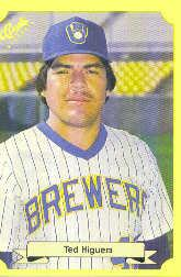 1987 Classic Update Yellow #147 Ted Higuera