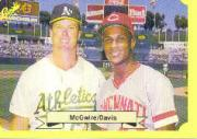 1987 Classic Update Yellow #150 M.McGwire/E.Davis