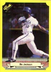 1987 Classic Update Yellow/Green Backs #109 Bo Jackson